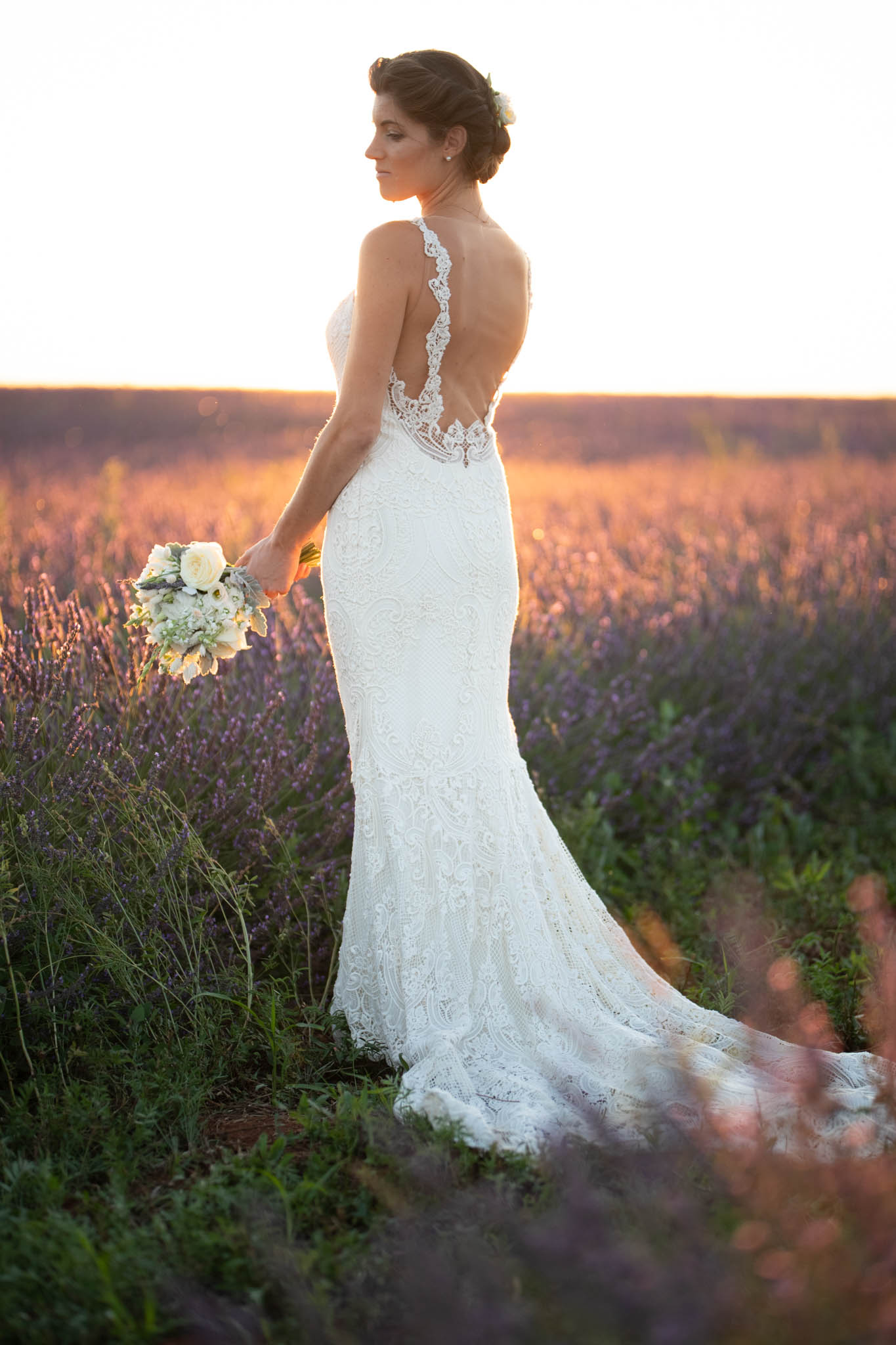 Tradition de mariage : une robe de mariée blanche