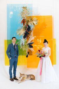 Tendances décoration de mariage : un mariage coloré