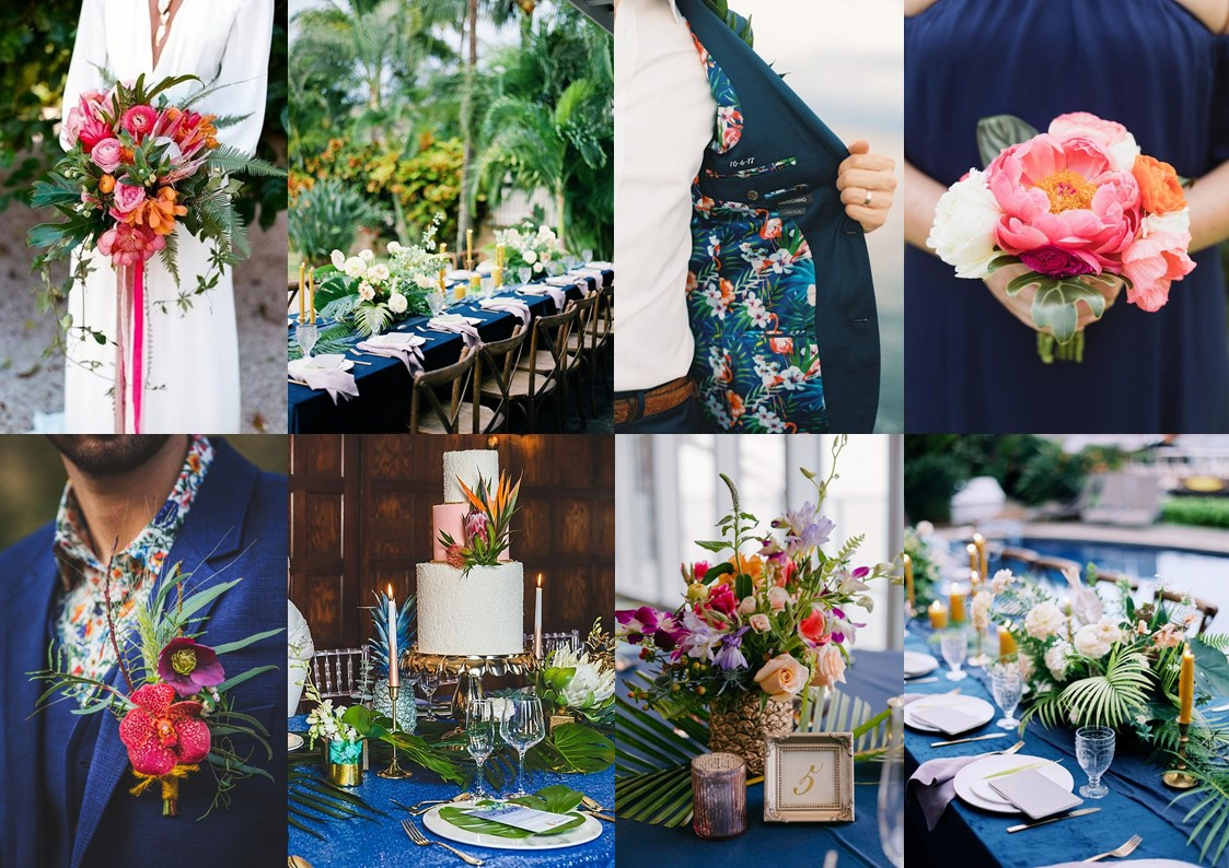 tropical-classic-blue-mariage-inspiration