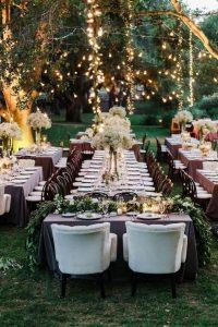 La table d'honneur parfaite pour notre mariage