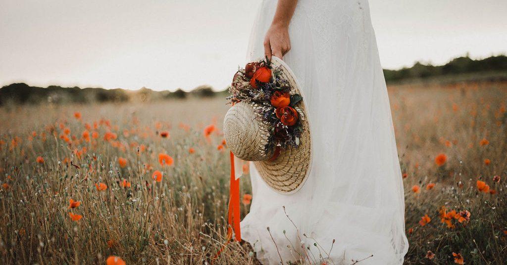 provence-elopement-boheme-champetre-coquelicot